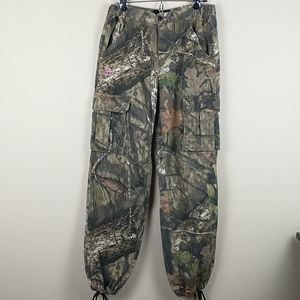 Mossy Oak green Camouflage cargo pants size small